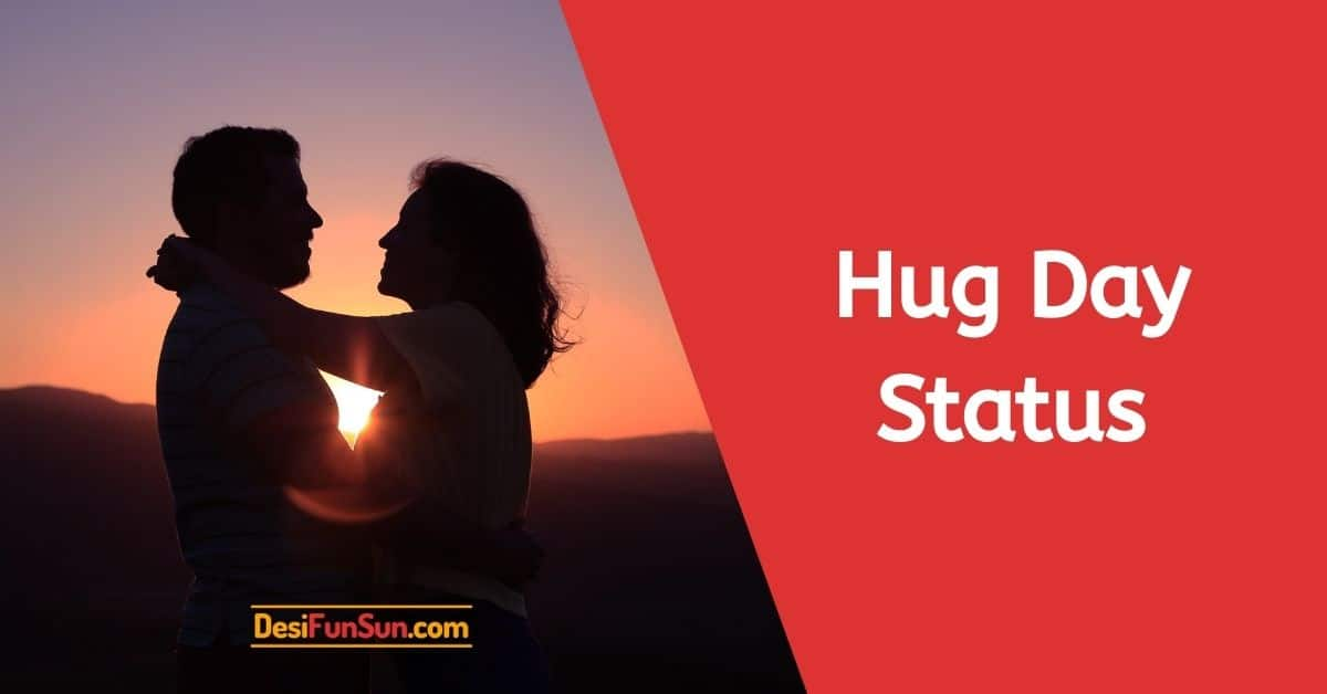 Hug Day Status Shayari Wishes Quotes Message SMS Thumbnail