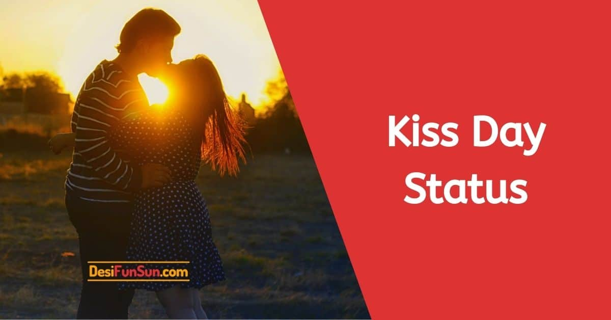 Kiss Day Status Shayari Wishes Quotes Message SMS Thumbnail